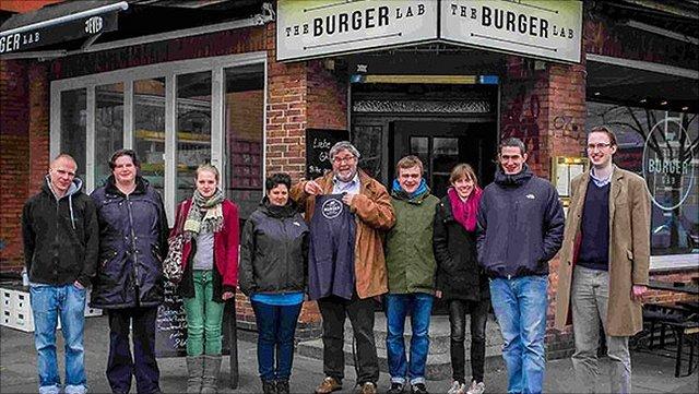 Gruppenbild AG Burger