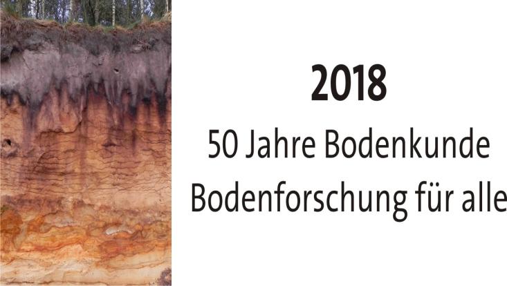 Logo 50 Jahre Bodenkunde