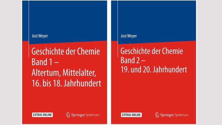 """Neuerscheinung: """"Geschichte der Chemie"""" von Jost Weyer"""