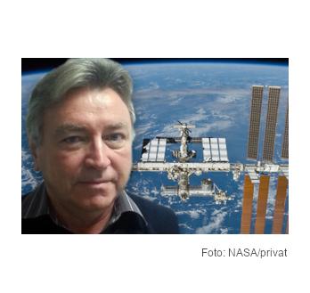 Auf der ISS können Proteinkristalle besser wachsen.