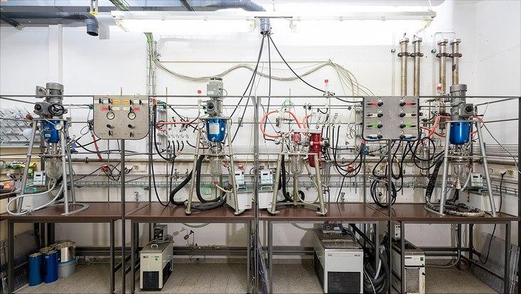 1L Glasscreeningreaktoren samt Prozessleitsystem