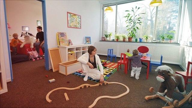 Eltern-Kind-Zimmer Stellingen