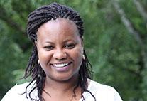 Grace Ngaruiya ist Mitarbeiterin am CEN