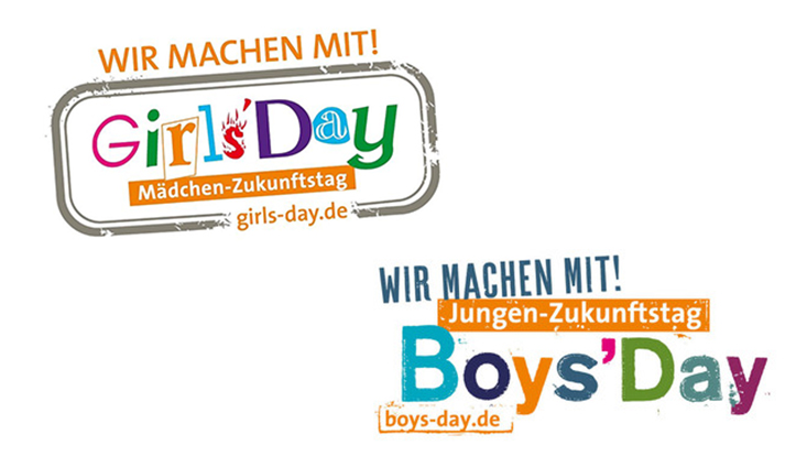 Das Banner des Girl's and Boy's Day.