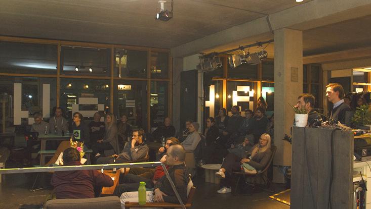 Publikum beim LabTalk