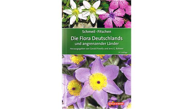 Cover der 97. Auflage von Parolly, G. & Rohwer, J.G. 2019. Schmeil-Fitschen - Die Flora Deutschlands und angrenzender Länder