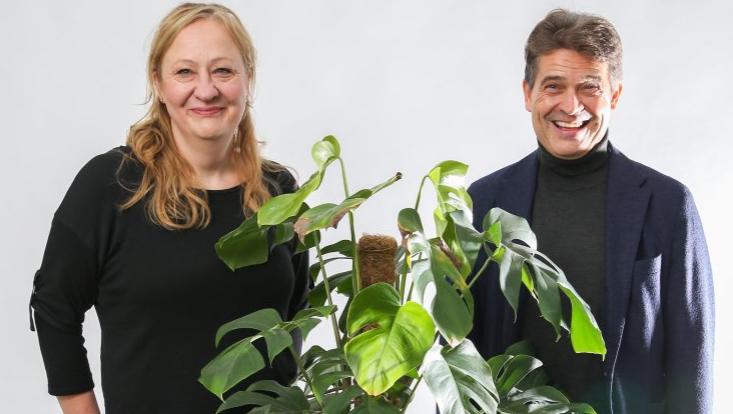 Professorin Kehr und Professor Fromm