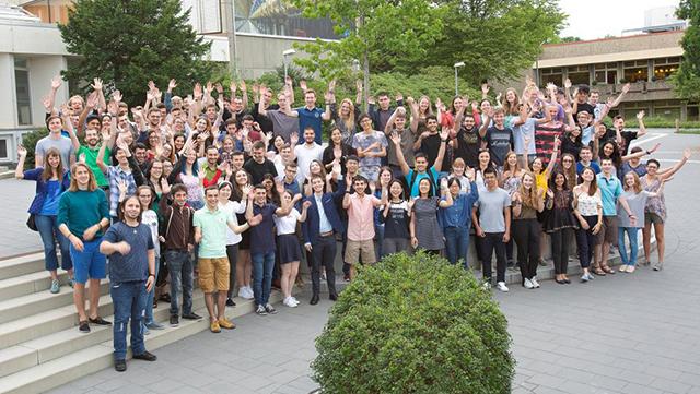 DESY summer students 2018