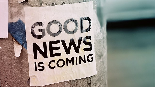 Good News is coming Plakat