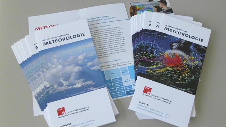 Studiengangsflyer Meteorologie