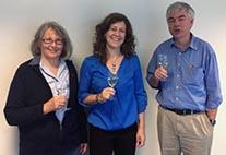 Das neue Sprecherteam Prof. Pfeiffer, Prof. Engels, Prof. Stammer