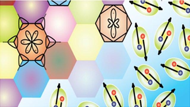 Symbolische Darstellung einer Zellenstruktur