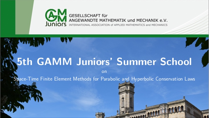 GAMM Junior Summer School announcement