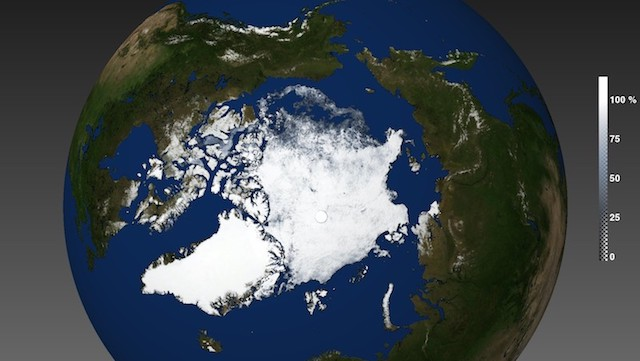 AMSR2 Sea Ice Melt Season 2015