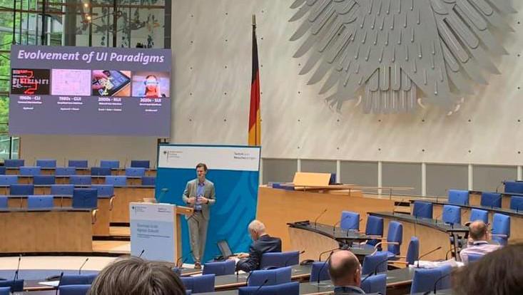 Prof. Frank Steinicke: Keynote at Zukunftskongress 2019