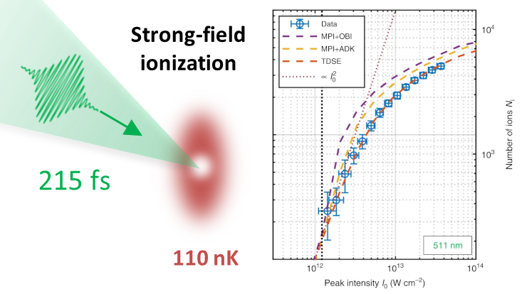 Absolute strong-field ionization probabilities