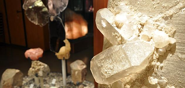 Quarz in der Mineralogischen Sammlung