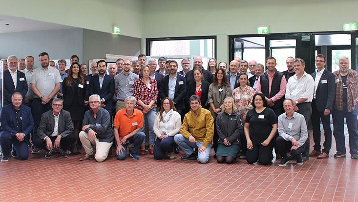 Teilnenmer des 21. ERVO Meetings an der Universität Hamburg