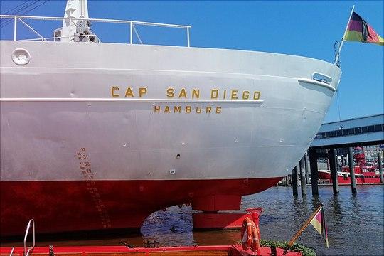 Cap San Diego Hamburg