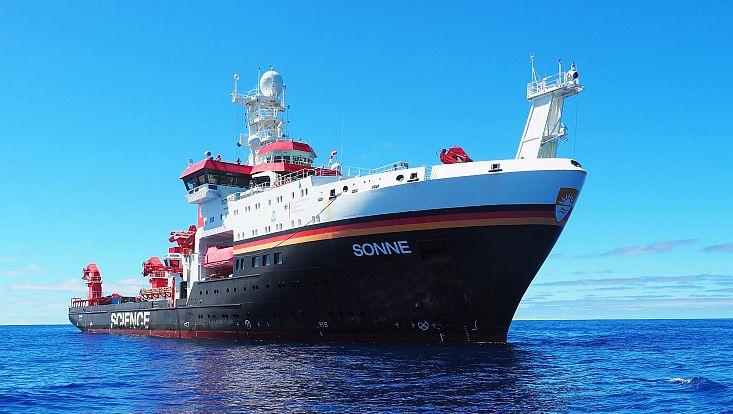 Forschungschiff SONNE