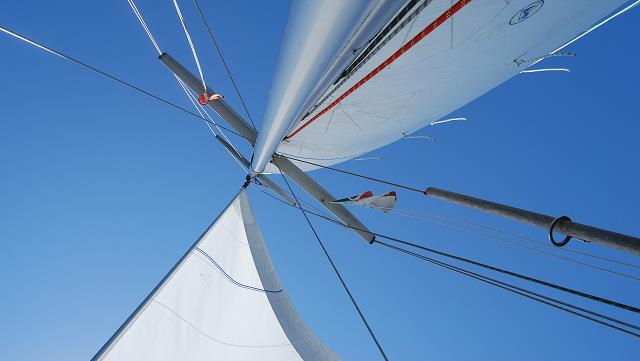 Image of a sailing boat
