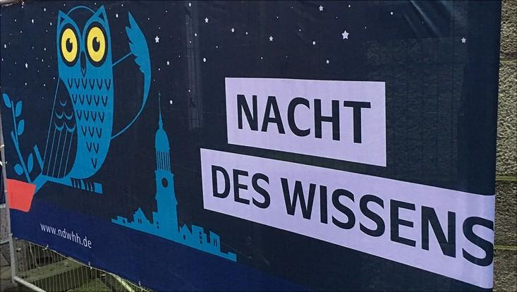 Nacht des Wissens 2017 Banner