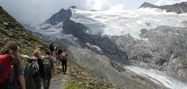 Auf Exkursion in den Alpen / On excursion in the Alpes