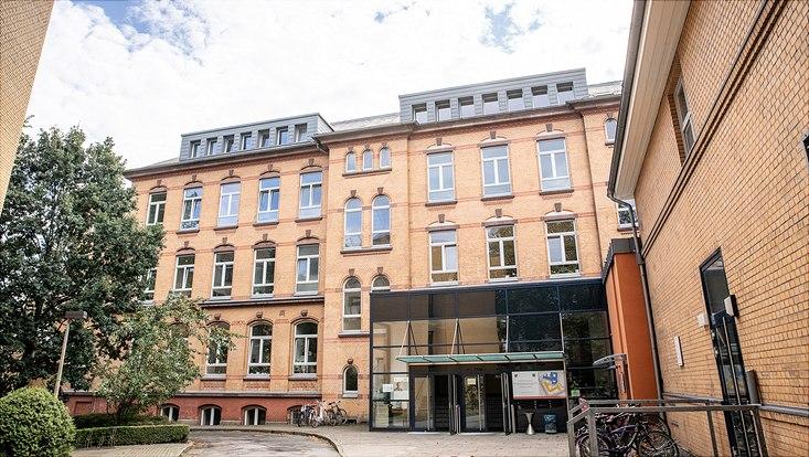 1. Institut für Theoretische Physik Hamburg, Vorderansicht