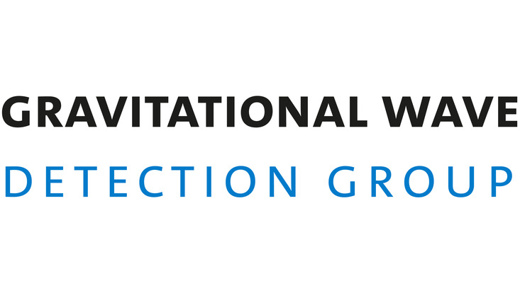 Wortmarke Gravitationswellendetektion Arbeitsgruppe