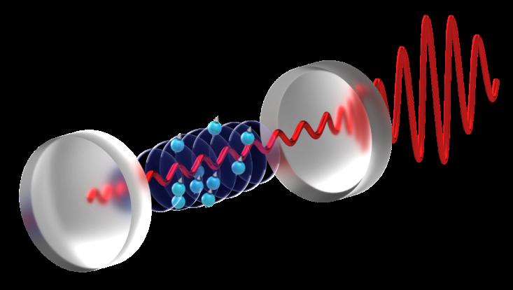 Superradiant Calcium Laser