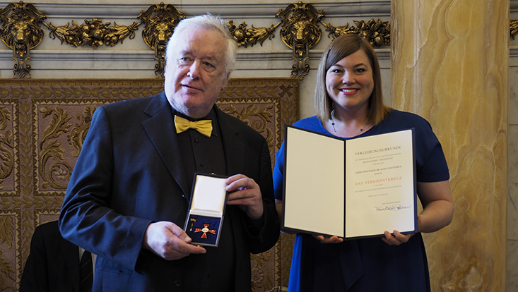 Bundesverdienstkreuz für Hans von Storch