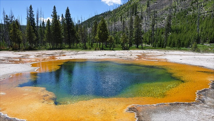 Yellowstone Thermalquelle