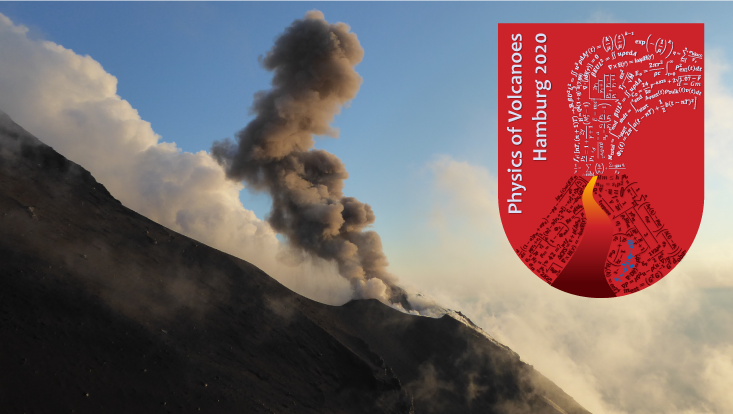 Physics of Volcanoes 2020 Workshop in Hamburg Logo