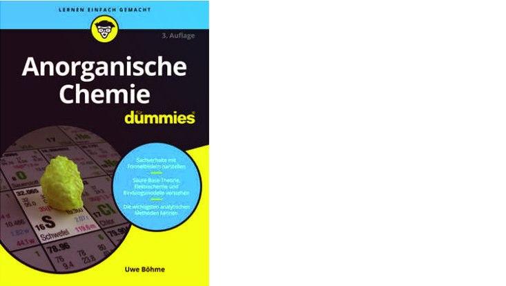 Cover Anorganische Chemie für Dummies