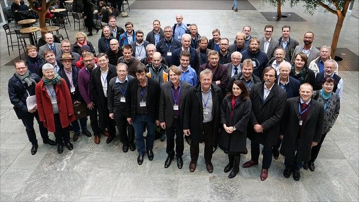 Gruppenbild der Teilnehmerinnen und Teilnehmer des Fakultätentag Informatik.
