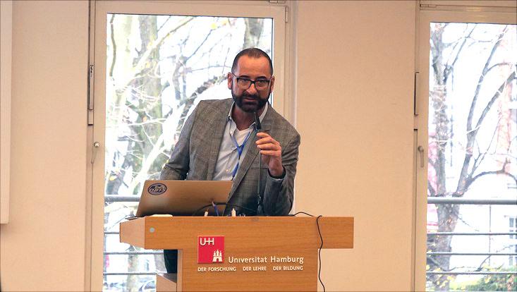 Prof. Dr. Norbert Ritter, Vorsitzender des Fakultätentags Informatik, führte durch das Programm.