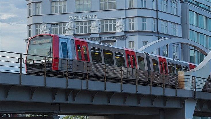 Hochbahn subway train