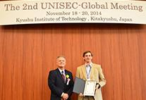 Klemen Zakšek erhält ersten Preis im Ideenwettbewerb UNISEC