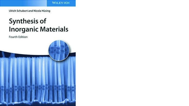 "Cover ""Synthesis of inorganic materials"""