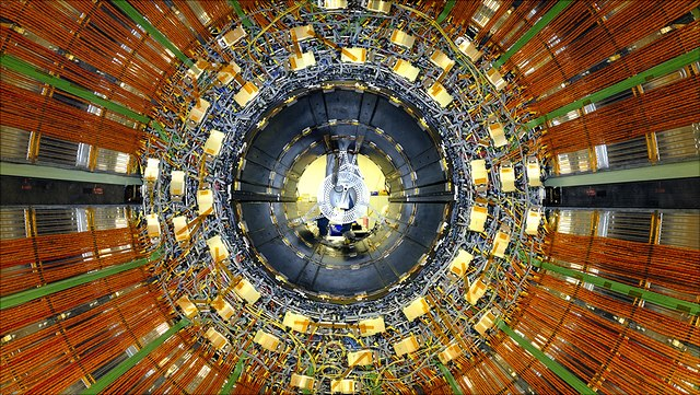 Detail of Large Hadron Collider