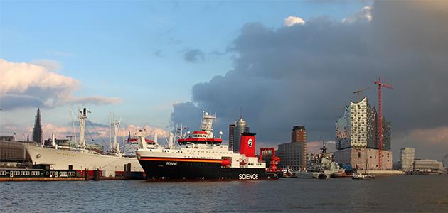 FS SONNE in Hamburg