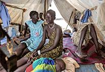 Äthiopisches Flüchtlingslager: Rivalisierende Volksgruppen und Dürre im Sudan vertrieben bereits mehr als eine Million Menschen.
