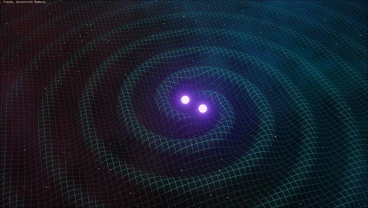 Simulation von Gravitationwellen