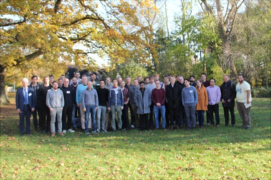 Group picture of annual SFB 925 meeting 2019