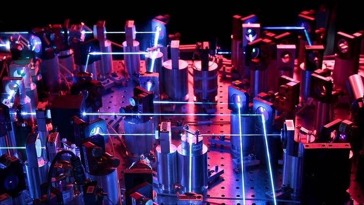 Yb blue laser system