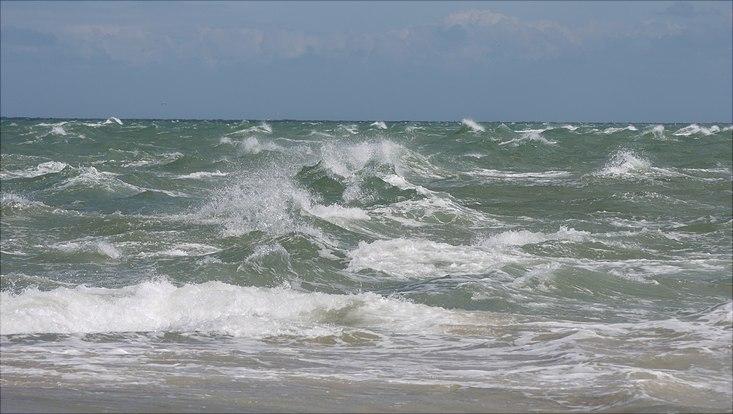 Wellen, stürmisch