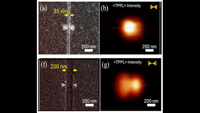 Die Darstellung zeigt eine Abbildung des Nanofokus.