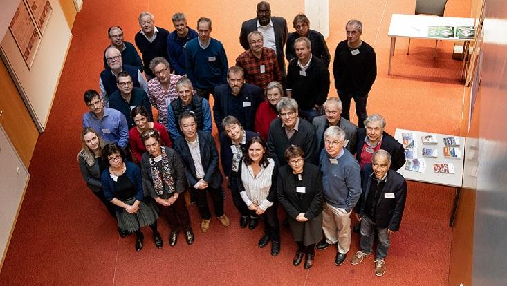 Gruppenfoto der Teilnehmerinnen und Teilnehmer des WCRP-Treffen