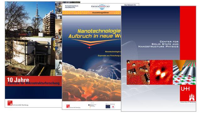 Deckblätter Broschüren Nanotechnology