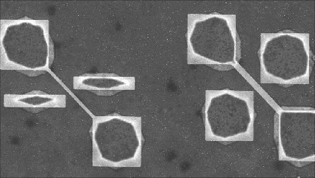 suspended structures in our fluidic chips